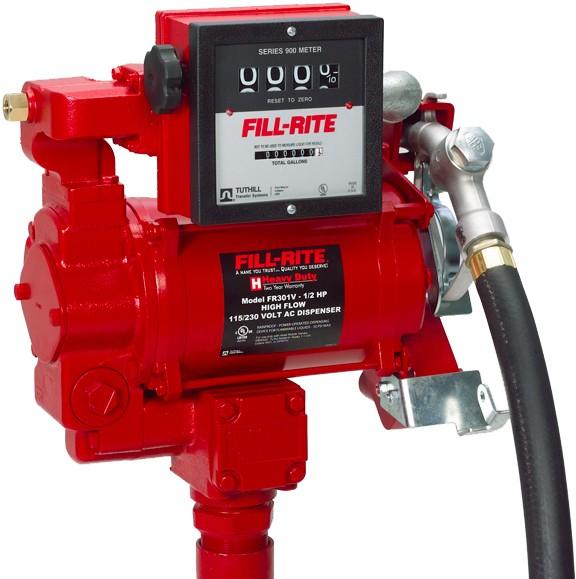 Benzinpumpe Set 69Liter 220V Zähler